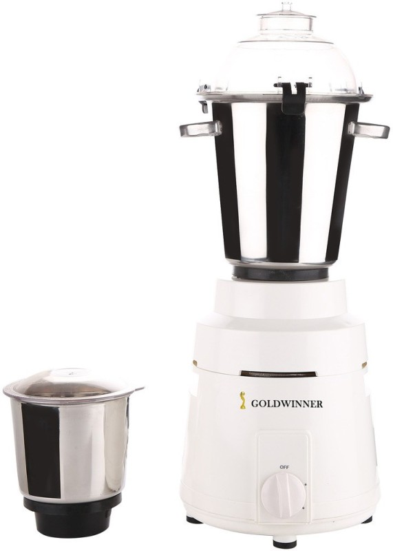 Goldwinner GW_COMR_1200Watts_MA17 1200 W Mixer Grinder(White, 2 Jars)