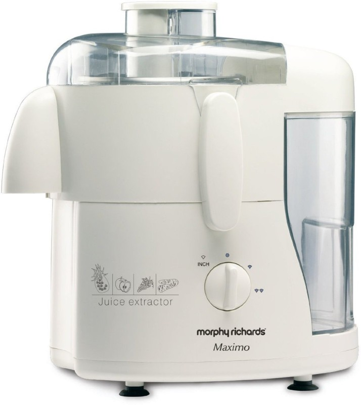 Morphy Richards Maximo 450 W Juicer(White, 1 Jar)