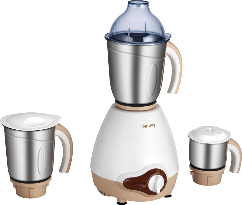 Philips HL1646/00 600 W Mixer Grinder(White, 3 Jars)