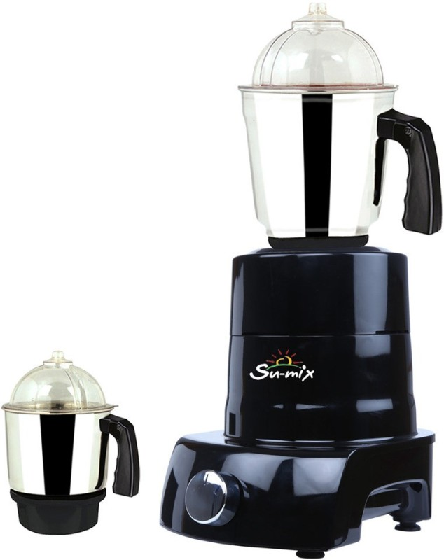 Su-mix MA MGJ 2017-58 MA ABS Body MGJ 2017-58 600 W Mixer Grinder(Multicolor, 2 Jars)