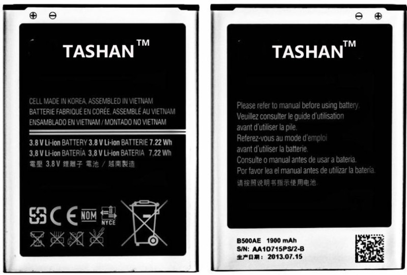 Tashan Mobile Battery For samsung galaxy s4 mini i9190