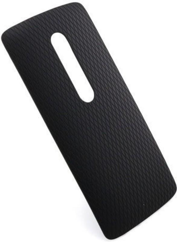 Case Creation Motorola Moto X Play Back Panel(Black)