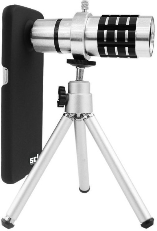 Smiledrive Samsung Galaxy S6 Edge Plus 12x Optical Zoom Lens Kit With Universal Mobile Tripod Mobile Phone Lens(Telephoto)