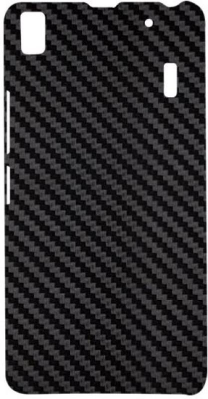 SKIN4GADGETS Black Carbon Fiber Texture Phone Designer CASE for LENOVO A7000 LENOVO A7000 Mobile Skin(Multicolor)