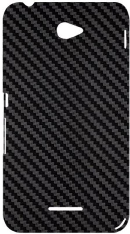 SKIN4GADGETS Black Carbon Fiber Texture Phone Designer CASE for SONY XPERIA E4 SONY XPERIA E4 Mobile Skin(Multicolor)