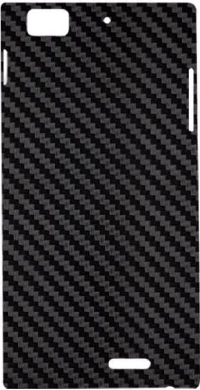 SKIN4GADGETS Black Carbon Fiber Texture Phone Designer CASE for LENOVO K900 LENOVO K900 Mobile Skin(Multicolor)