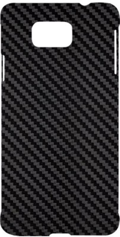 SKIN4GADGETS Black Carbon Fiber Texture Phone Designer CASE for SAMSUNG GALAXY ALPHA (G850) SAMSUNG GALAXY ALPHA (G850) Mobile Skin(Multicolor)