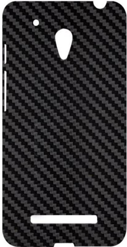 SKIN4GADGETS Black Carbon Fiber Texture Phone Designer CASE for ASUS ZENPONE 5 ASUS ZENPONE 5 Mobile Skin(Multicolor)