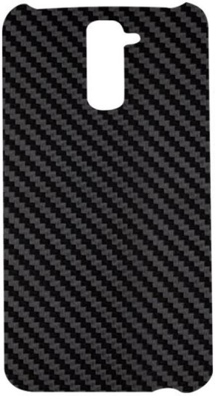 SKIN4GADGETS Black Carbon Fiber Texture Phone Designer CASE for LG G2 LG G2 Mobile Skin(Multicolor)