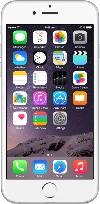 Apple iPhone 6 (Silver, 64 GB) image
