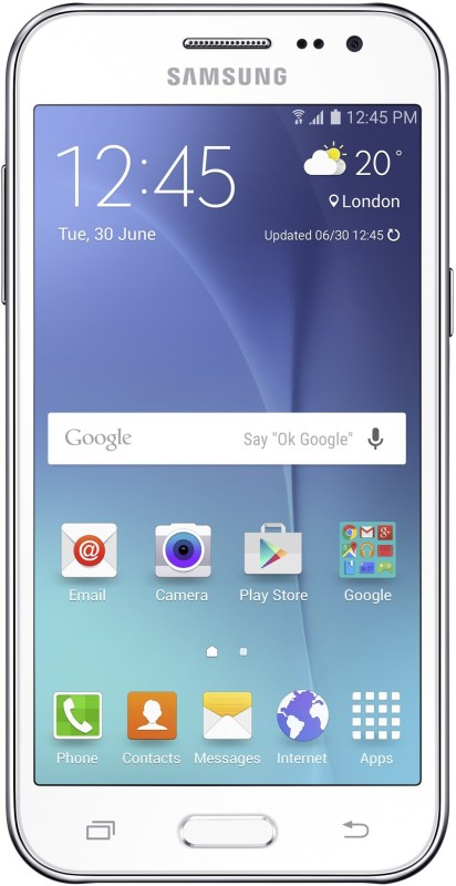 Samsung Galaxy J2 (White, 8 GB)(1 GB RAM)