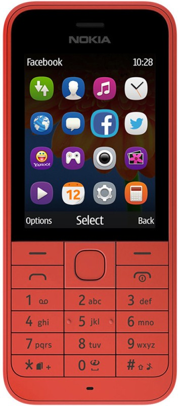 Nokia 220(Red)