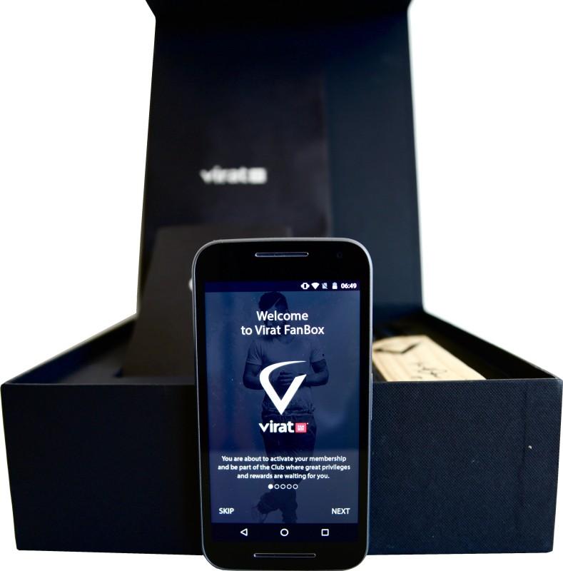 Virat FanBox Moto G Turbo Virat Kohli (Black, 16 GB)(2 GB RAM)