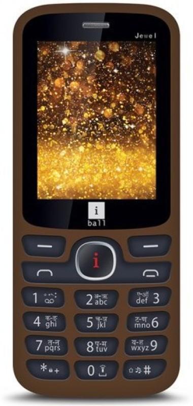 Iball 2.4K Jewel(Brown & Black)