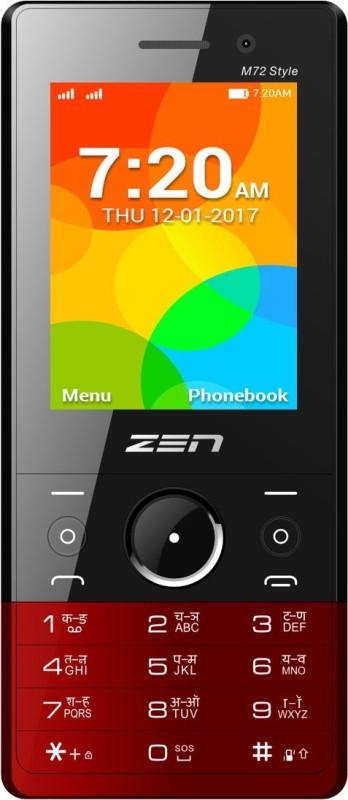 Zen M72 Style(Black & Red) image