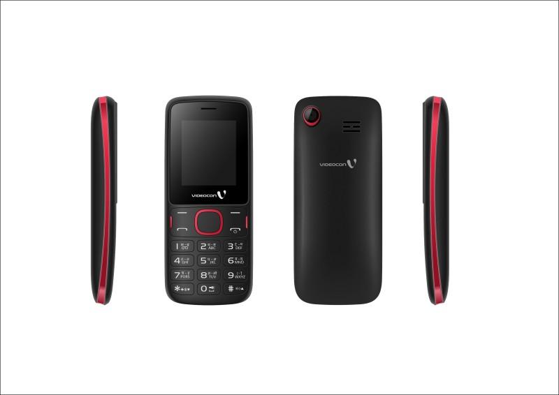 Videocon V1IA1(Black & Red)