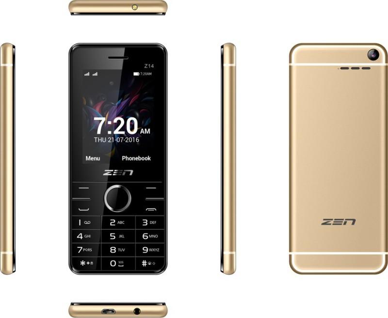 Zen Z14 Flaunt(Champagne) image