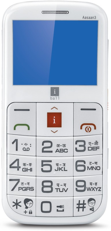 Iball Aasaan 3(White)