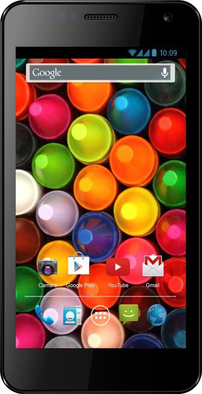 Karbonn Titanium S4 (Black, 4 GB)(1 GB RAM) image