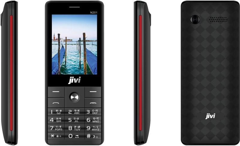 JIVI N201(Black & Red) image