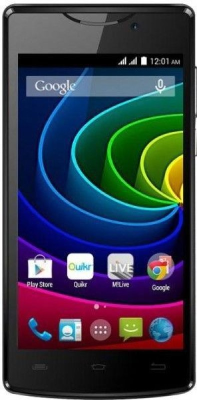 Micromax Bolt D320 (Black, 4 GB)(512 MB RAM)