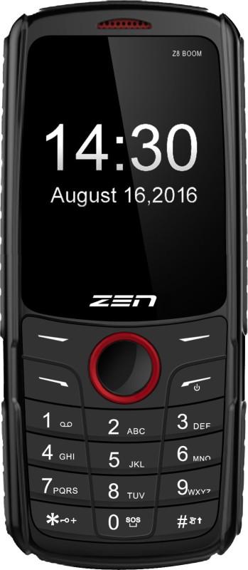 Zen Z8 Boom(Black & Red) image