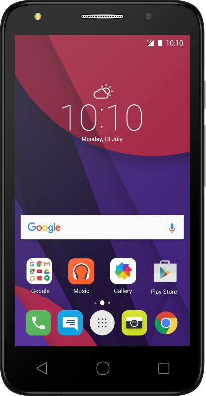 Alcatel Pixi4 (Metal Silver, 8 GB)(1 GB RAM)