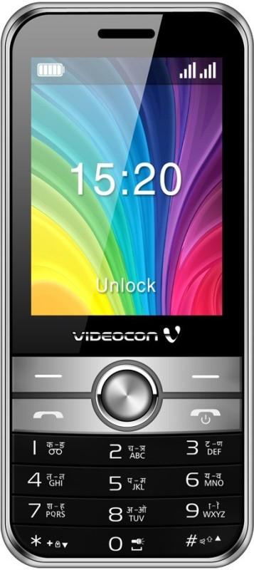 Videocon Virat V3CC(Silver & Black)