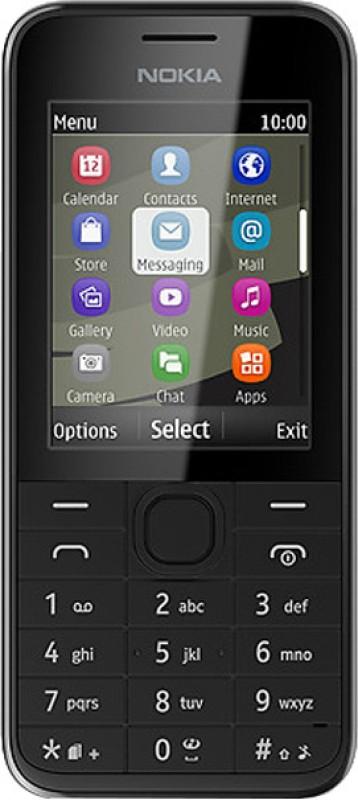 Nokia 208(Black)