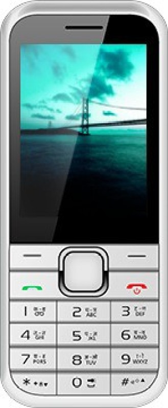 Videocon V1555N(Silver, White)