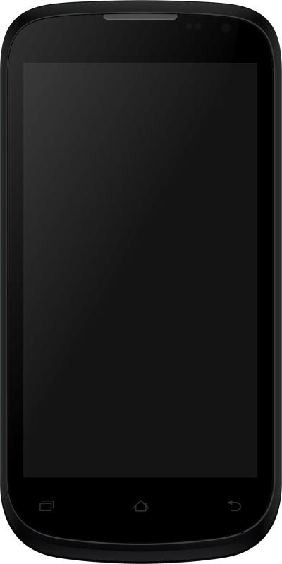 Micromax Canvas Elanza A93 (Black Silver, 4 GB)(1 GB RAM) image