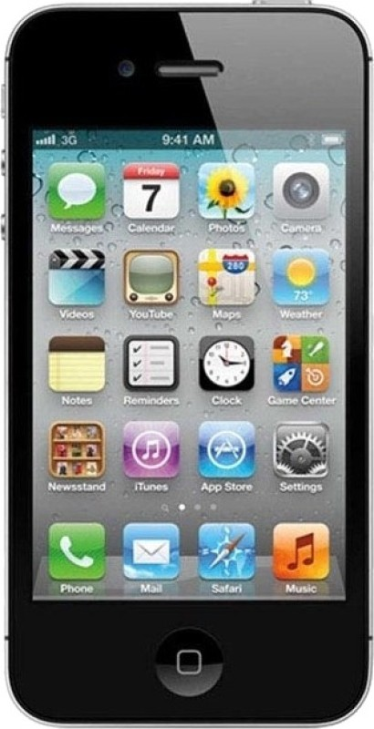 Apple IPhone 4 (Black, 8 GB)