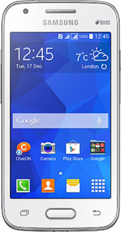 Samsung Galaxy S Duos 3 (Ceramic White, 4 GB)(512 MB...