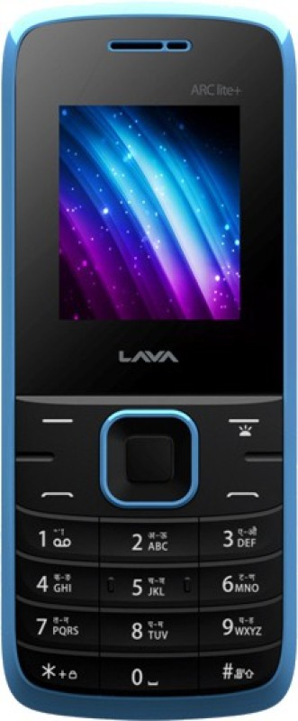Lava ARC Lite+ FM(Black & Blue) 1