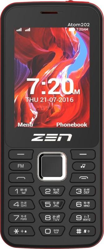 Zen Atom 202(Black & Red) image