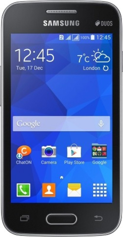 Samsung Galaxy S Duos 3 (Charcoal Grey, 4 GB)(512 MB RAM)