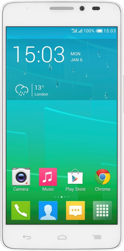 Alcatel Onetouch Idol X Plus (White, 16 GB)(2 GB RAM)