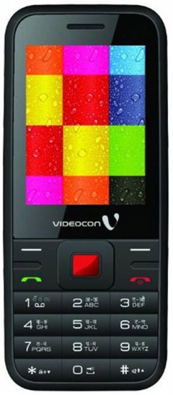 Videocon V1527(Red, Black)