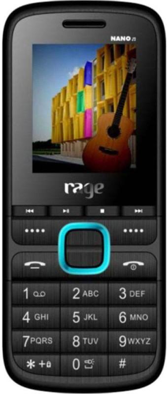 Rage Nano M(Black & Blue) image