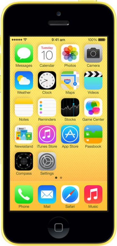 Apple iPhone 5C (Yellow, 16 GB)