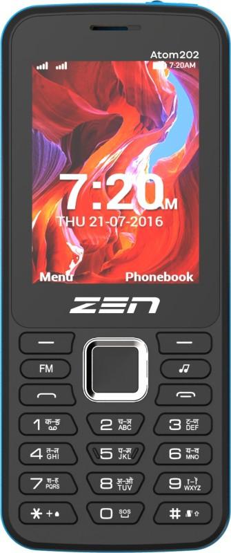 Zen Atom 202(Black & Blue) image