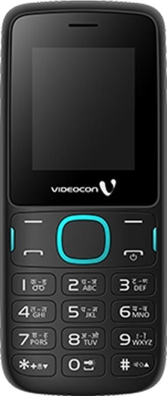 Videocon V1393(Blue, Black)