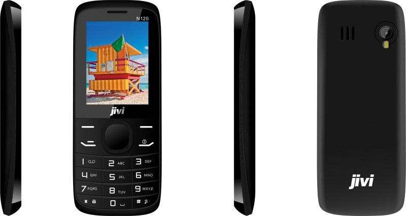 JIVI N120 Without Charger and Hands-free(Black) image