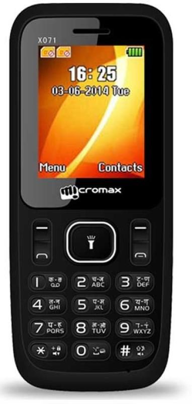 micromax-x071black