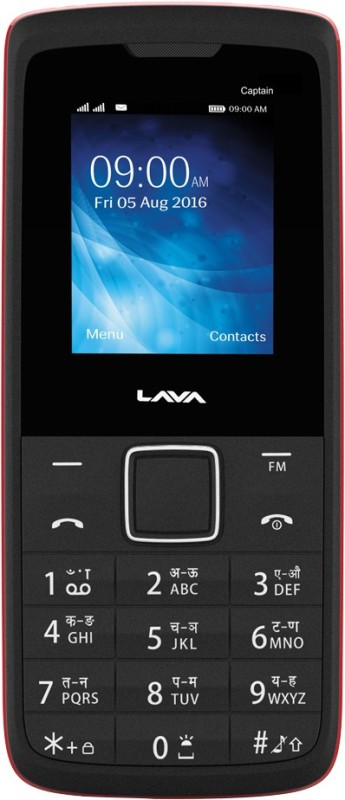 Lava Captain K1 Plus(Black Red) image