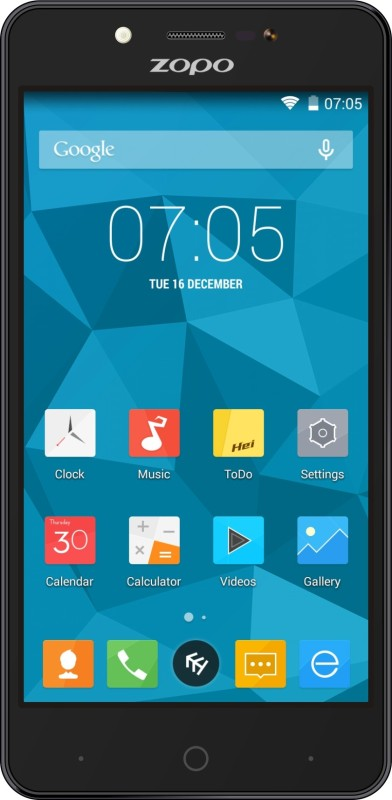 ZOPO Color E ZP350 (Black, 8 GB)(1 GB RAM)