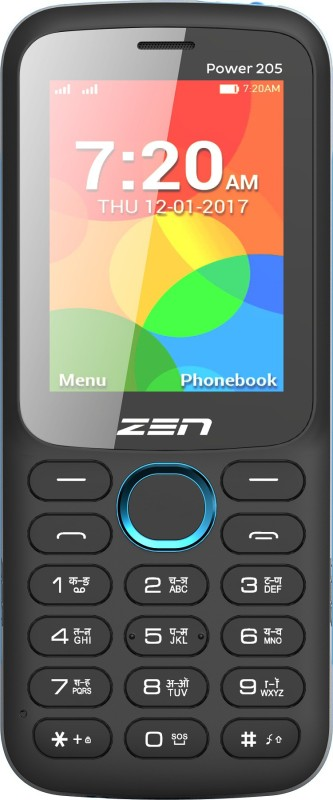 Zen Power 205(Black & Blue) image