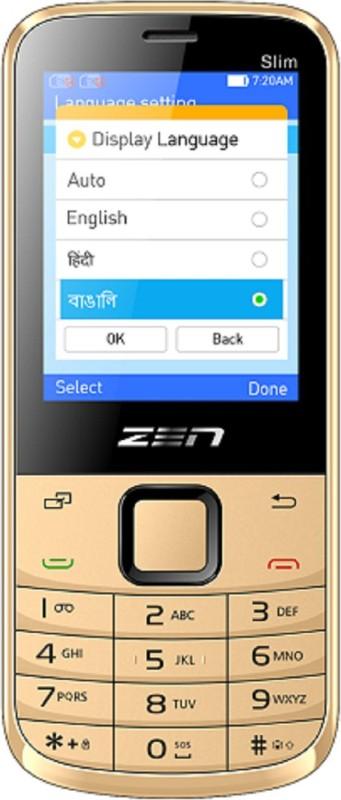 Zen Zen M72 Slim(Black and golden) image