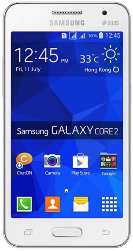 Samsung Galaxy Core 2 (White, 4 GB)(768 MB RAM) image