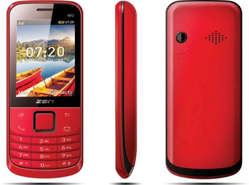 Zen M72 Slim(Red) image